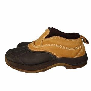 L.L Bean Duck Ankle Slip On Shoes